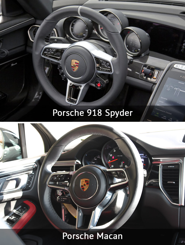 Porsche Macan интерьер фото
