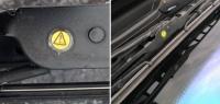 Почему на щётках стеклоочистителей имеются жёлтые наклейки?