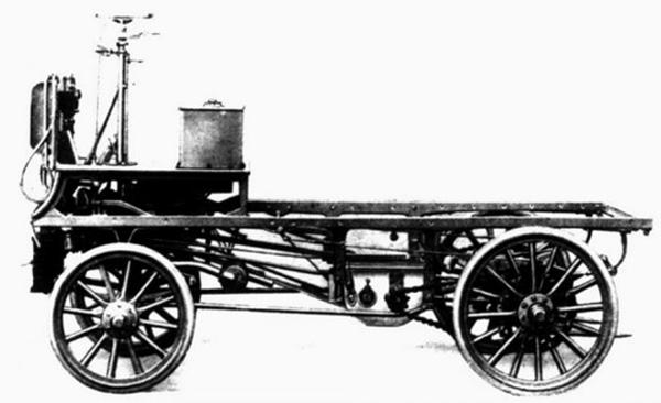 Первый российский грузовик фото