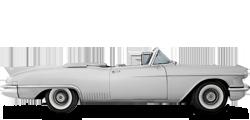 Cadillac Eldorado кабриолет 1957-1958