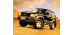 Toyota Land Cruiser Prado компактный внедорожник 1996-1999