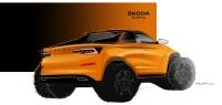 Новым студенческим концепт-каром SKODA станет пикап на базе модели KODIAQ